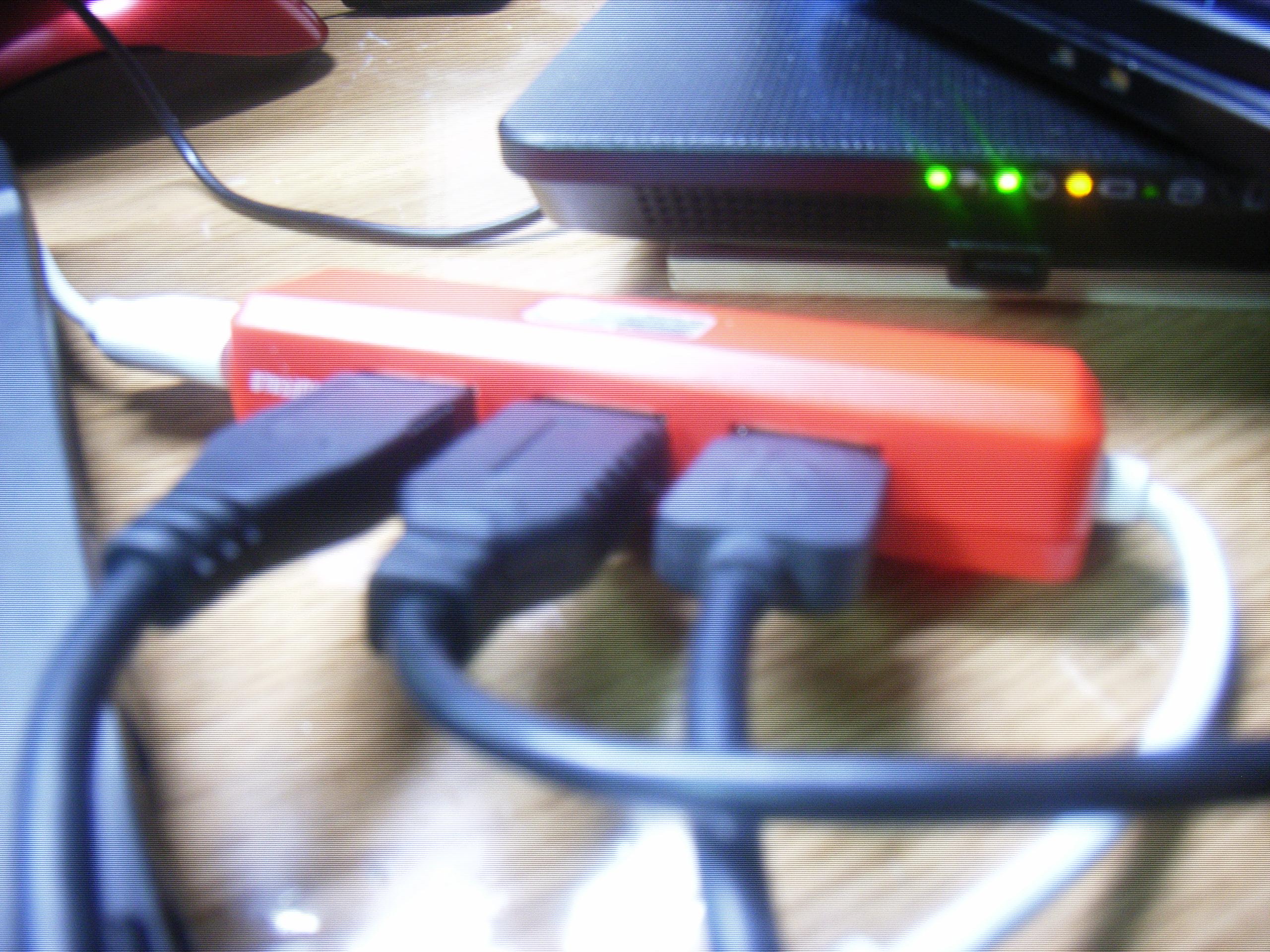 たこ足USBの例